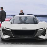 奥迪将推出高性能纯电动跑车e-tron GTR 与保时捷Taycan相同平台打造